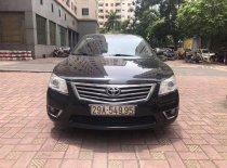 Bán xe Toyota Camry 2.4G đời 2012, màu đen, xe chạy rất ít giá 668 triệu tại Hà Nội