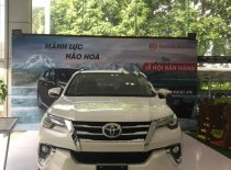 Bán Toyota Fortuner 2.8V 4x4 AT 2019, màu trắng giá 1 tỷ 300 tr tại Hà Nội