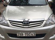 Cần bán xe Toyota Innova 2011, màu bạc, nhập khẩu   giá 282 triệu tại Thái Nguyên
