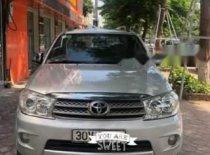 Bán xe Toyota Fortuner 2.7V 4x4AT đời 2009, màu bạc   giá 450 triệu tại Hà Nội