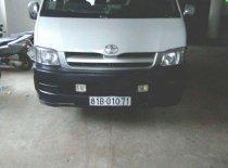 Cần bán gấp xe cũ Toyota Hiace 2009, màu trắng giá 230 triệu tại Gia Lai