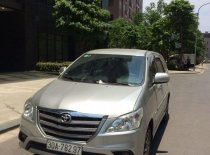 Bán Toyota Innova 2.0E 2016, màu vàng cát giá 538 triệu tại Hà Nội