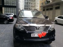 Bán Toyota Fortuner 2.7V 2012, màu đen, xe gia đình, giá tốt giá 680 triệu tại Hà Nội