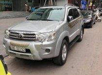 Cần bán xe Toyota Fortuner 2.7V 4x4 AT sản xuất 2009, màu bạc, giá chỉ 455 triệu giá 455 triệu tại Hà Nội
