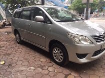 Bán ô tô Toyota Innova 2.0 MT đời 2012, màu bạc, biển Hà Nội không chạy dịch vụ giá 445 triệu tại Hà Nội