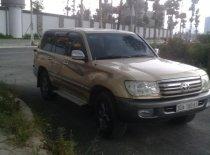 Cần bán Toyota Land Cruiser GX 4.500 EFi sản xuất năm 2000, màu vàng, nhập khẩu nguyên chiếc số sàn, giá 345tr giá 345 triệu tại Hà Nội