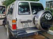Bán Toyota Land Cruiser 1996, màu bạc, xe nhập   giá 520 triệu tại Tp.HCM