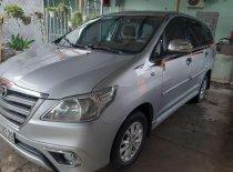 Cần bán gấp Toyota Innova 2014, màu bạc giá 530 triệu tại Bình Dương