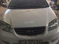 Cần bán gấp Toyota Vios đời 2005, màu trắng, nhập khẩu giá 145 triệu tại Tiền Giang