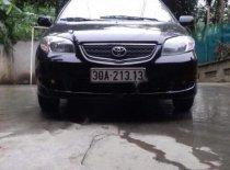 Cần bán gấp Toyota Vios sản xuất 2005, màu đen giá 160 triệu tại Vĩnh Phúc