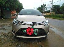 Bán Toyota Vios đời 2015, màu vàng cát, số tự động giá 455 triệu tại Hà Tĩnh