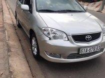 Cần bán gấp Toyota Vios sản xuất năm 2005, màu bạc, xe nhập, 240tr giá 240 triệu tại Bình Dương