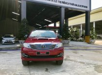 Cần bán Toyota Fortuner G đời 2015, màu đỏ, số sàn giá 830 triệu tại Tp.HCM