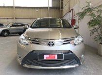 Cần bán lại xe Toyota Vios G đời 2017, màu vàng, số sàn giá 470 triệu tại Tp.HCM