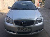 Cần bán lại xe Toyota Vios sản xuất năm 2007, màu bạc xe nguyên bản giá 185 triệu tại Hải Phòng