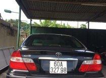 Bán Toyota Camry năm sản xuất 2003, màu đen, nhập khẩu  giá 320 triệu tại Tp.HCM