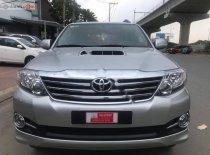 Bán Toyota Fortuner G MT sản xuất 2015, màu bạc giá 830 triệu tại Tp.HCM