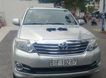Bán xe Toyota Fortuner 2.5G sản xuất năm 2015, màu bạc số sàn giá 740 triệu tại Tp.HCM