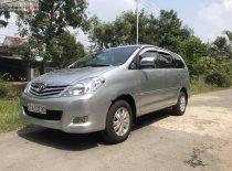 Bán Toyota Innova G sản xuất 2009, màu bạc, xe gia đình giá 380 triệu tại Tiền Giang
