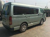 Bán Toyota Hiace sản xuất năm 2009, màu xanh lam xe máy chạy êm giá 285 triệu tại Hà Nội