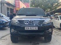 Cần bán lại xe Toyota Fortuner G MT 2015, màu đen số sàn, 775 triệu giá 775 triệu tại Hà Nội