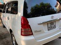Bán ô tô Toyota Innova J đời 2008, màu trắng giá 248 triệu tại Thái Nguyên