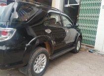 Cần bán gấp Toyota Fortuner 2012, màu đen, số sàn giá 665 triệu tại Bình Định