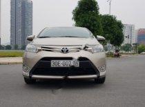 Bán Toyota Vios 1.5E năm 2014, màu vàng chính chủ giá 393 triệu tại Hà Nội