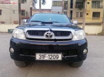Bán xe Toyota Hilux 3.0G 4x4 MT đời 2010, màu đen, nhập khẩu  giá 375 triệu tại Hà Nội