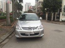 Xe Toyota Innova 2.0G năm sản xuất 2009, màu bạc chính chủ giá 265 triệu tại Hà Nội