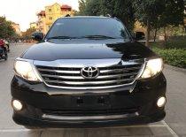 Cần bán xe Toyota Fortuner 2.7V đời 2013, màu đen giá 595 triệu tại Hà Nội