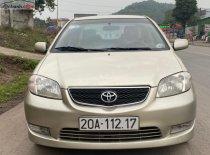 Bán Toyota Vios đời 2003, màu vàng xe gia đình giá 180 triệu tại Thái Nguyên
