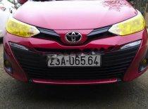 Bán xe cũ  Toyota Vios 1.5E MT 2019, màu đỏ giá 456 triệu tại Hà Giang