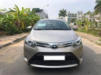 Cần bán xe Toyota Vios G 2017, màu vàng cát giá 499 triệu tại Tp.HCM