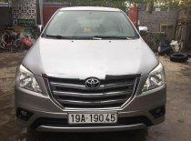 Bán Toyota Innova đời 2015, màu bạc số sàn  giá 455 triệu tại Thanh Hóa