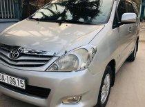 Cần bán xe Toyota Innova G MT đời 2009, màu bạc số sàn giá cạnh tranh giá 340 triệu tại Bình Dương