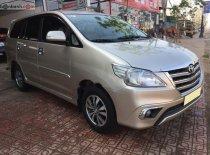 Cần bán Toyota Innova E đời 2015, màu vàng, xe gia đình, giá tốt giá 468 triệu tại Lâm Đồng