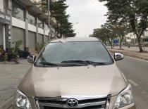 Cần bán gấp Toyota Innova sản xuất năm 2014, màu vàng số sàn giá 415 triệu tại Hà Nội