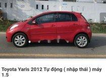 Cần bán gấp Toyota Yaris AT đời 2012, màu đỏ, nhập khẩu nguyên chiếc giá 405 triệu tại Ninh Bình