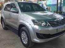 Bán Toyota Fortuner sản xuất 2012, màu bạc xe gia đình giá 638 triệu tại Đồng Tháp