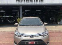 Cần bán lại xe Toyota Vios G đời 2018, màu vàng cát, giá siêu ưu đãi giá 540 triệu tại Tp.HCM