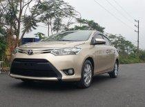 Cần bán gấp chiếc xe Toyota Vios đời 2017, màu kem (be) còn mới, giá rẻ giá 415 triệu tại Hưng Yên