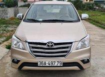 Bán Toyota Innova năm sản xuất 2014, màu vàng, xe gia đình  giá 368 triệu tại Thanh Hóa