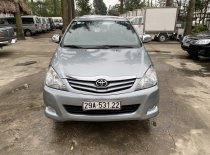 Bán ô tô Toyota Innova sản xuất 2012, màu bạc, gia hấp dẫn giá 385 triệu tại Hà Nội