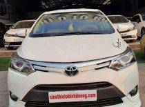 Cần bán Toyota Vios đời 2017, màu trắng đẹp như mới  giá 489 triệu tại Bình Dương