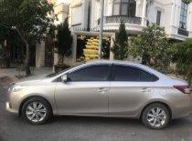 Bán xe Toyota Vios 1.5E 2015 biển Hà Nội 4 phanh đĩa, màu vàng cát giá 345 triệu tại Hà Nội
