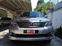 Bán Toyota Fortuner sản xuất 2015, màu bạc giá 740 triệu tại Tp.HCM