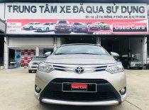 Cần bán lại xe Toyota Vios năm 2016, màu nâu giá 430 triệu tại Tp.HCM