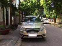 Cần bán xe Toyota Innova 2.0E năm 2016, màu vàng, chính chủ, giá chỉ 425 triệu giá 425 triệu tại Hà Nội