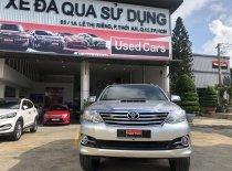 Xe Toyota Fortuner 2.5G sản xuất 2015, màu bạc giá cạnh tranh giá 750 triệu tại Tp.HCM